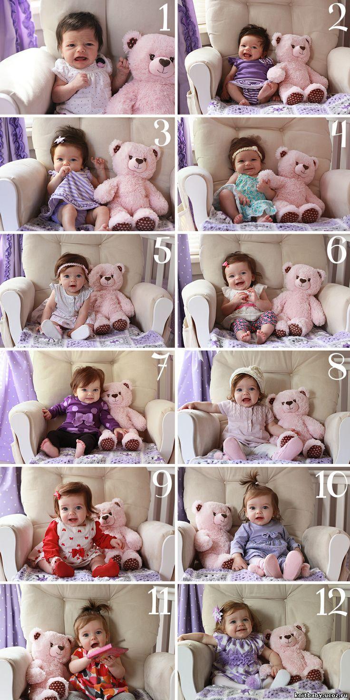 Идеи для фотосессии детей до года 26