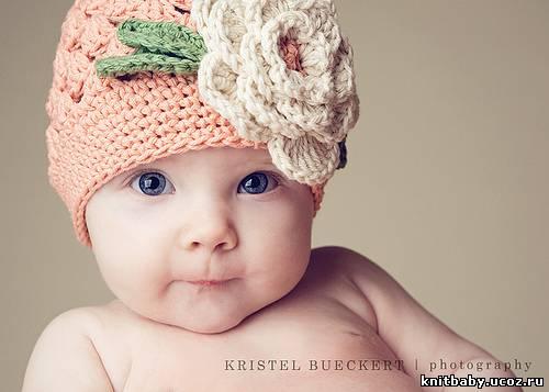 """На нашем женском сайте  """"Дамочка """" Вы в любое время найдете новость - вязание для малышей прикольные шапки..."""