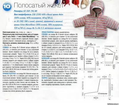 Вязание капюшона для ребенка